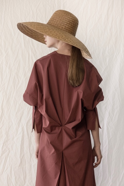 917 draping one-piece