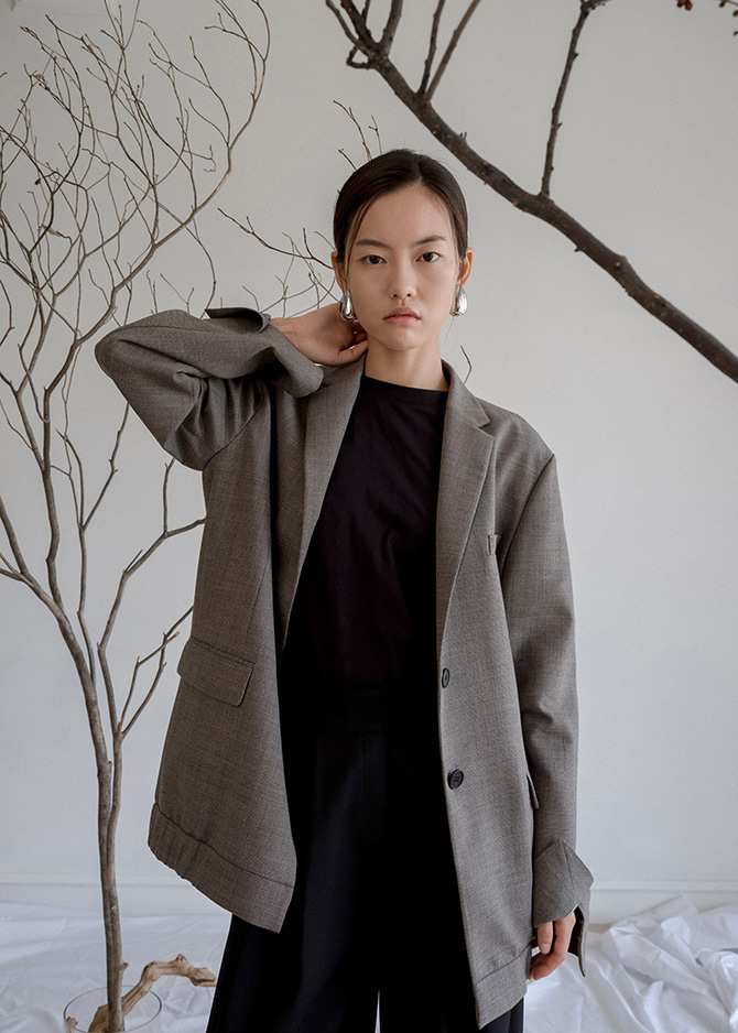 917 Grey Wool Jacket