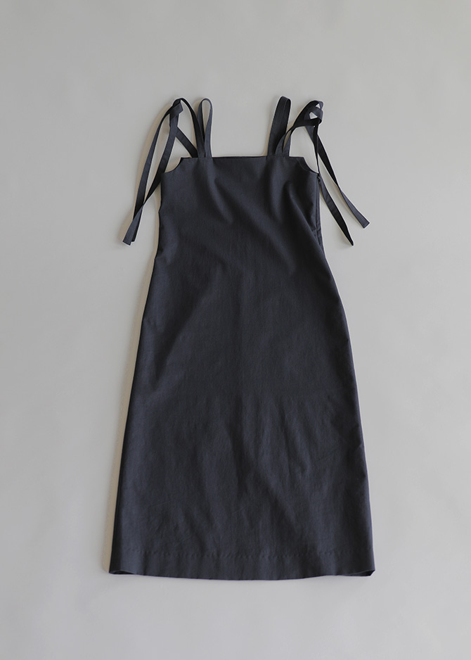 917 Navy String Dress