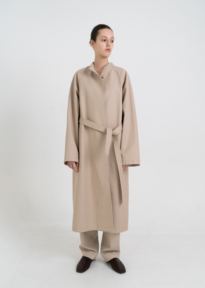 917 Stitch Trench Coat (Beige)
