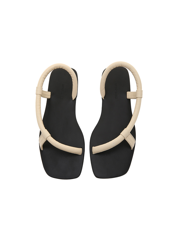 917 Rope Leather Slipper (Ivory)